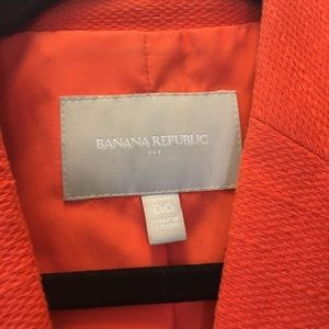 Banana Republic Jackets & Coats - BR Orange Blazer